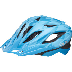 KED Street Jr. Pro casco per bici Bambino blu